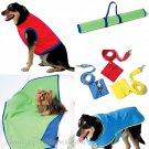 Dog Jacket Coat Sewing Pattern Vest Pet CLothing Leash Travel Mat 4666