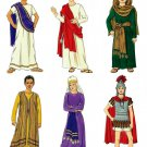 Kids Costume Pattern Christmas Easter King Shepherd Priest Mary Joseph 7-16 5905 Bible Religious