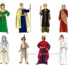 Children's Costume Pattern Christmas Easter Angel King Shepherd Mary Joseph 6-8 2340 Religious