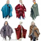 Capes Poncho Sewing Pattern Easy Pullover Jacket Coat Wrap Capelet Hood S M L 3448