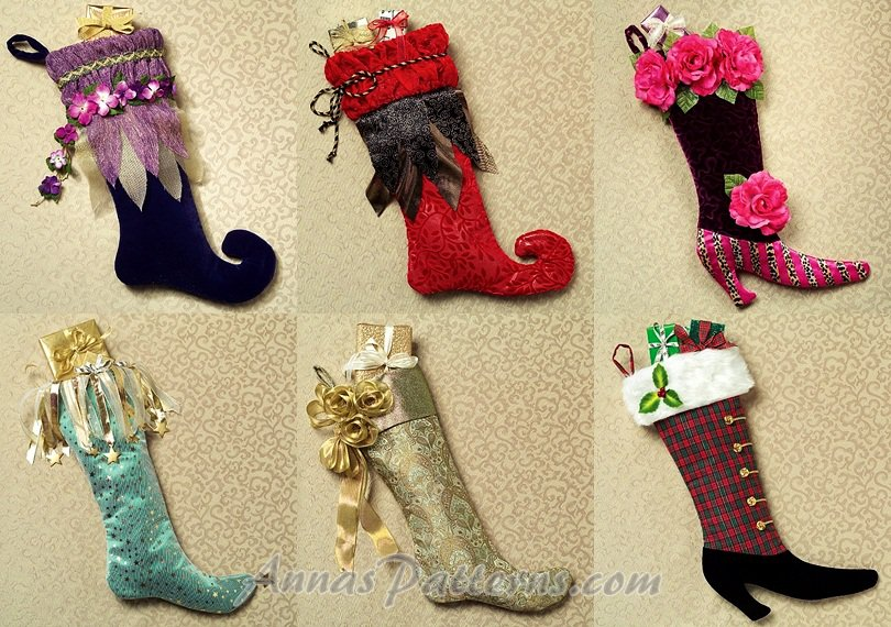 Christmas Stocking Cross Stitch Pattern