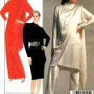 Halston Vintage Sewing Pattern Tunic Top Dress Pants Draped Scarf Sexy Formal Evening 12 8870