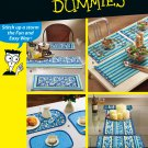 Simplicity Easy Sewing Pattern Placemats Table Runner Mantel Kitchen Dining Decor 5964