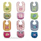 Baby Bibs Diaper Covers Sewing Pattern Princess Fish Ladybug Elephant Frog Monkey 6108