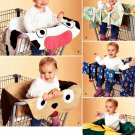 Shopping Grocery Cart Cover Sewing Pattern Buggy Child Toddler Cow Puppy Lily Pad Flower Easy 2920
