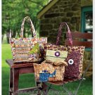 Large Tote Bag Sewing Pattern Handbag Travel Gym Long Handle Pockets 6409