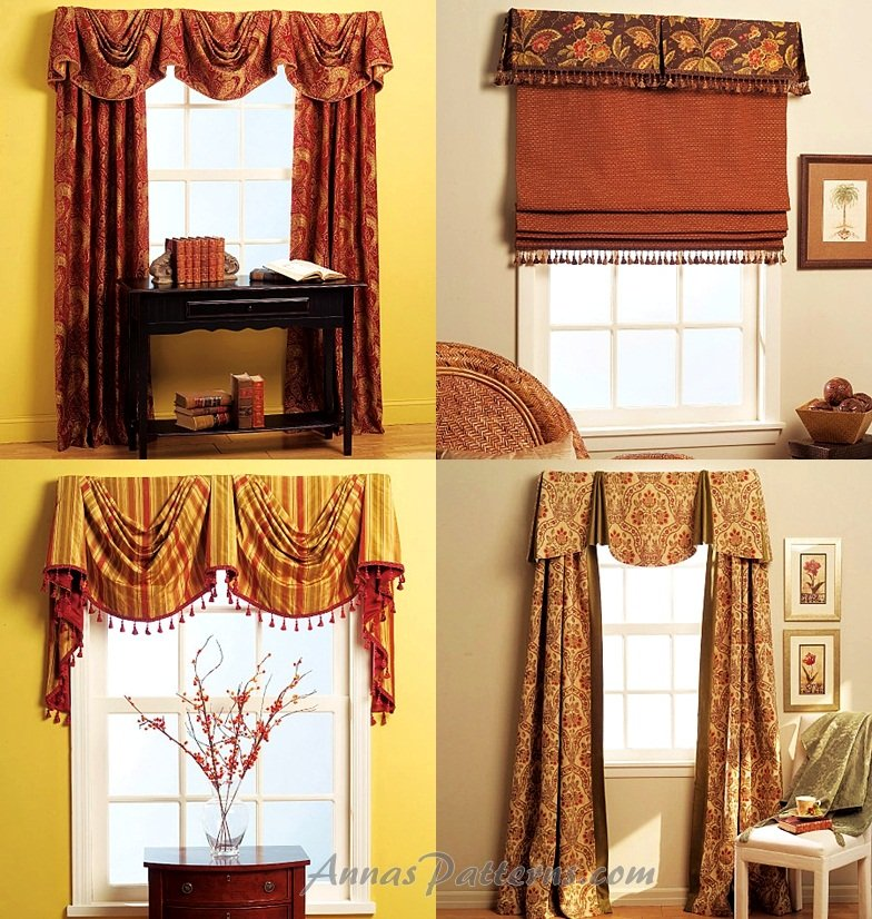 Sewing Patterns For Drapes Choice Image - origami instructions easy ...