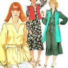 Hipster Tunic Top Dress Sewing Pattern Vest Long Pull Over Easy Peasant Blouse 70s 10-12 6353