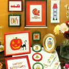 Charted Cross Stitch Holiday Designs Birthday Halloween Christmas Thanksgiving Easter 4th Melbar