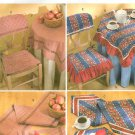 Tablecloth Chair Covers Sewing Pattern Table Runner Napkin Placemat Kitchen Dining Accessories 4481