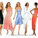 Spaghetti Strap Dress Sewing Pattern Long Short Formal Evening Sundress Prom Bolero 14-18 6841