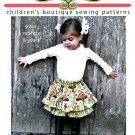 Twirl Skort Skirt Sewing Pattern Easy Pantaloon Infant Toddler Girls Sensible Boutique