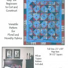 Farmers Friend Quilt Sewing Pattern Easy Full Size Lap Blanket Pillow Sham Easy Country Prim