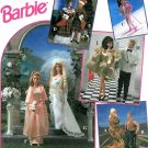 Barbie Ken Clothing Sew Pattern Wedding Christmas Pajama Skirt Top Cowboy Cowgirl Western Ski 8797