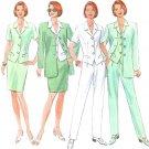 Classic Suit Sewing Pattern Vest Jacket Top Pant Skirt Wardrobe Princess Seams 12 14 16 4888