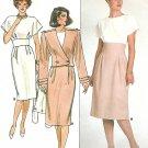 David Warren Retro Dress Sewing Pattern Bolero Jacket Raised Wide Waist Vintage Uncut 12 14 16 3628