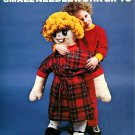 Sewing Knitting Crochet Pattern Big Book Small Needlwork 80s Doll Quilt Toy Scarf Poncho Design