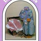 Dream Spinners Child Vest Pattern Patchwork Pieced Rag Strips Quilt Size 4-12