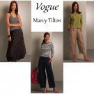 Vogue Sewing Pattern Capri Ankle Pant Skirt Bubble Hemline Cargo Tilton Easy Fashion 6-12 8499