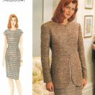 Vogue Dress Sewing Pattern Lined Suit Jacket Tailored Fit Plus Womans 18-22 9221
