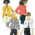 Shortie Jacket Coat Sewing Pattern Retro Bolero Vintage Look Bubble Waist 8-14 5187