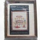 Framed Christmas Cross Stitch Kit Beary Christmas Teddy Bear Sleeping Bed 8 x 10 Aida Janlynn