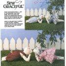 Pokey Pauline Piglet Sewing Pattern Plush Stuffed Toy Doll Barn Farm Pig Large 19 Inch 6369