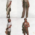Wardrobe Sewing Pattern Easy 20-24 Womens Plus Top Skirt Pants Shorts Vest Summer Spring  6570