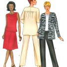 Suit Jacket Pants Sewing Pattern Easy Plus 20 22 24 Tank Top Skirt Wardrobe 6939