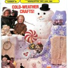 Annies Crochet Knitting Designs Apron Snowflake Afghan Animal Mitts Patchwork Cat Doily Mouse 1986