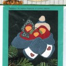 Redbird Applique Pattern Snuggling Winter Birds Family Christmas Sweatshirt Stocking Just Be Cuz