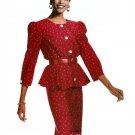 Peplum Jacket Skirt Sewing Pattern 6 8 10 Easy 2 Piece Dress Pencil Slim Fit Vintage 80s Mod 3861