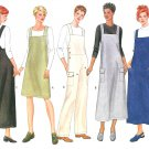 Jumper Jumpsuit Sewing Pattern 8-12 Easy Overalls Dress Pant Loose Fit Trendy 6260