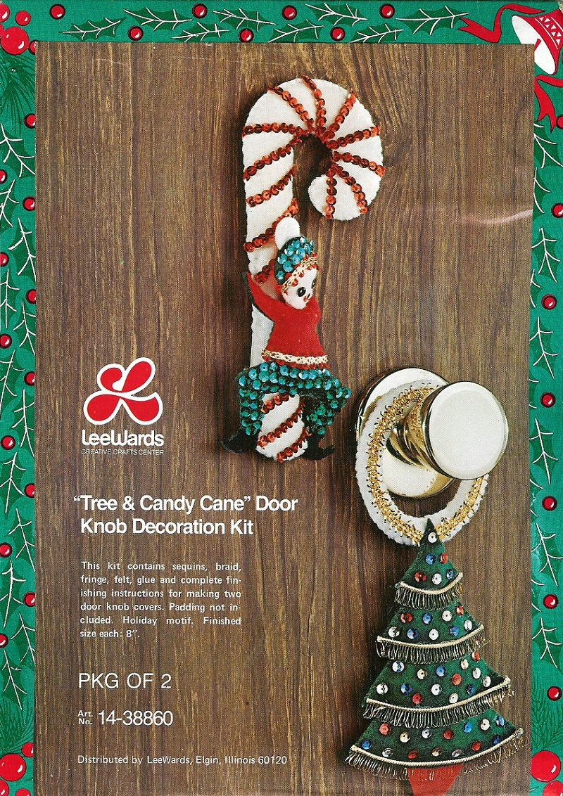 Christmas Door Knob Hanger Crafts
