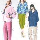 Tunic Top Pants Sewing Pattern 4-14 Pull Over Hood Easy Elastic Waist Capris 3/4 Sleeve 5791