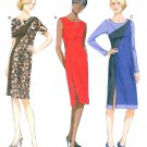 Fitted Dress Sewing Pattern 6-14 Bias Yoke Sleeveless Long Sleeve Knee Length 5852