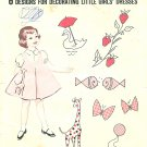 1960s Applique Large Designs Pattern Duck Strawberry Fish Butterfly Giraffe Seal