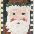 Kris Kringle Mosaic Wall Quilt Christmas Santa Country Old World Piecing Scraps