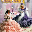 Crochet Dress Gown Patterns Barbie Fashion Doll Birthday Southern Belle Ruffled Crown Tiara Annies