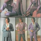 Easy Wardrobe Sewing Pattern Misses 10-14 Casual Annie Hall Top Jumper Vest Cadigan Pants Skirt 7080