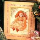 Christmas Porcelain Doll Counted Cross Stitch Pattern 1989 Vintage Design
