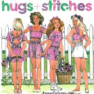 Girls Summer Shorts Tops Sewing Pattern 12-14 Easy Elastic Waist Crop Top 7774