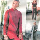 Kimono Top Pants Sewing Pattern 8-14 Long Duster Jacket 4195