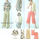 Wardrobe Sewing Pattern Sz 10-18 Pants Carpis Dress Skirt Jacket Tank Top Easy Pullover 3843