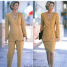 Noviello Bloom Women's Suit Sewing Pattern 18-22 Plus Size Wrap Jacket Skirt Pant Easy