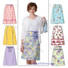 A-line Skirt Sewing Pattern Plus Womens 16-22 Easy Flared 4461