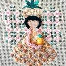 Aloha Angel Needlepoint Instructions Lei Lani Charted Embroidery 8 x 10
