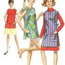 60s Swimsuit Cover-up Apron Sewing Pattern One Size Easy Cobbler Smock Crafts 7411