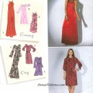 Day Evening Dress Sewing Pattern 6-14 Prom Boho Maxi Cleopatra Neck 2308