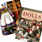 Cherished Dolls Two Hour Doll Clothes Craft Sewing Book Easy Ragdoll Baby